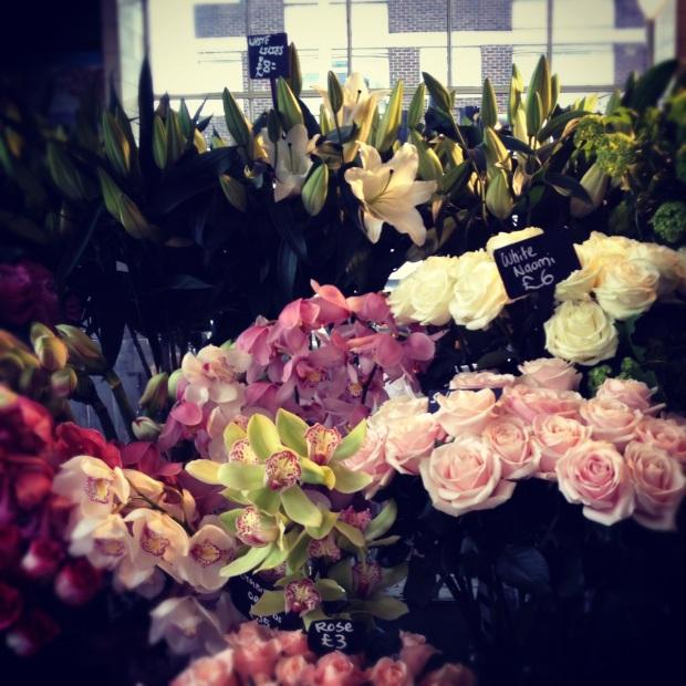 Flores em Londres - foto por Júlia A. O.