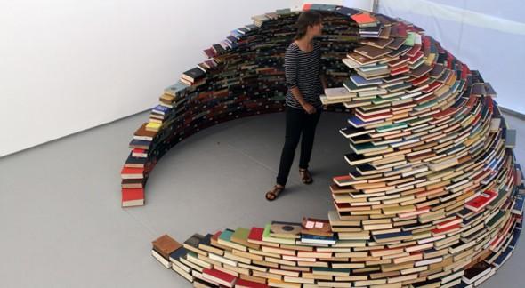 Livro é o melhor abrigo